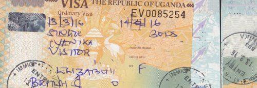 Uganda Entry Visa